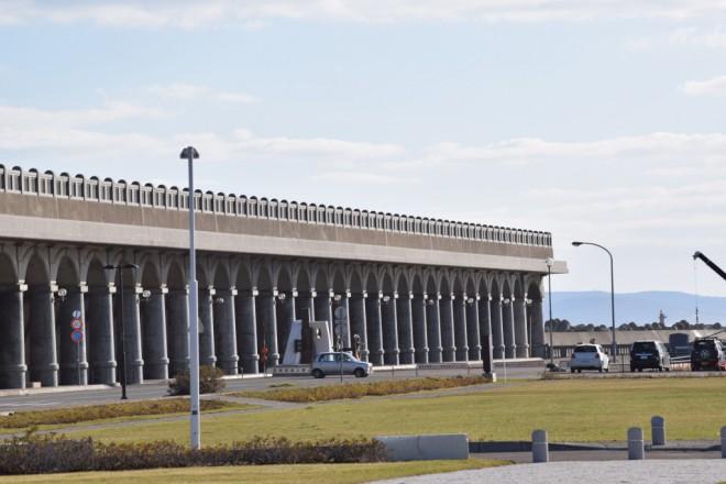 稚内港北防波堤ドーム(北海道遺産)