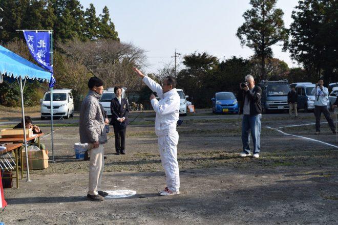 竹内さん選手宣誓